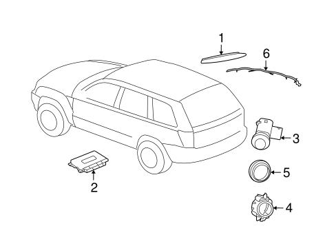 electrical components for 2005 jeep grand cherokee mopar. Black Bedroom Furniture Sets. Home Design Ideas