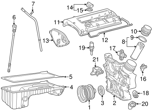 Engine Parts For 2001 Mercedes Benz Slk 230 Mercedes Benz Usa Parts