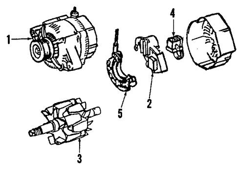 Genuine Oem Alternator Parts For 2008 Toyota Yaris S Olathe Toyota