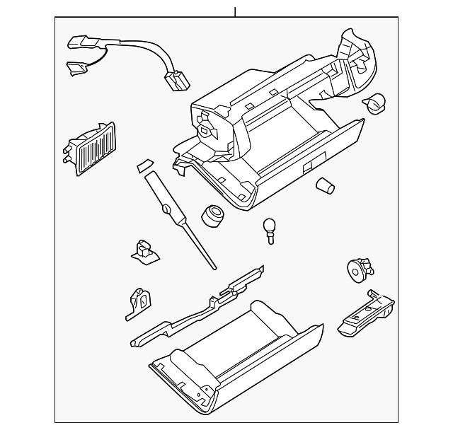 Glove Box Assembly