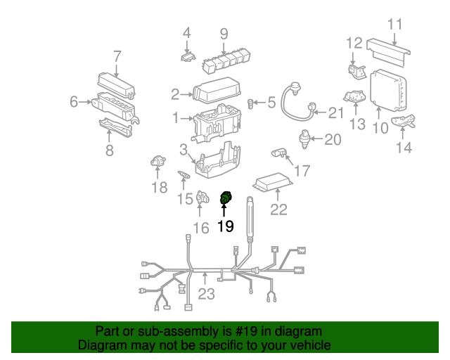 Engine Oil Pressure Switch - Toyota (83530-60020) | Toyota Parts