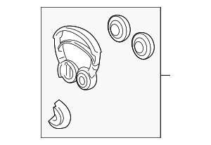 Headphone Unit (Hosiden) - Honda (39580-TZ5-A02)