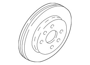 Disc Brake Rotor - Kia (0K2N1-33251-DS)