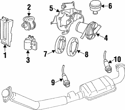 powertrain control for 1999 cadillac catera #0