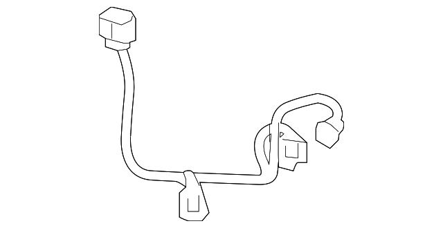 toyota wire harness  85317