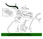 Arm, Windshield Wiper (Driver Side) - Acura (76600-TZ5-A01)