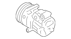 Compressor Assembly - Hyundai (97701-2B300)