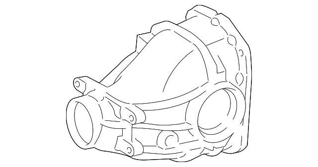 Mercedes Benz Differential Case 230 351 03 05