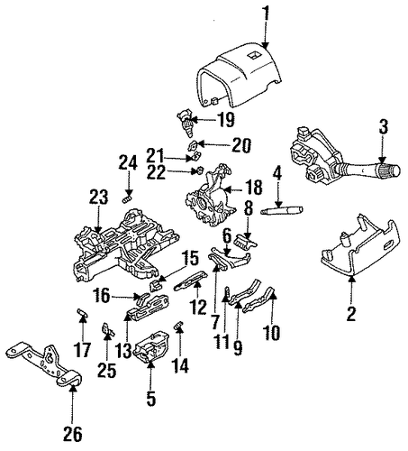 2002 Civic Engine Diagram also Chevy Blazer C100 Bulkhead Connector as well Nissan Antenna Wiring Diagram besides Cadillac Northstar Coolant Temperature Sensor Location further P 0996b43f802e57ed. on 96 lincoln mark viii engine