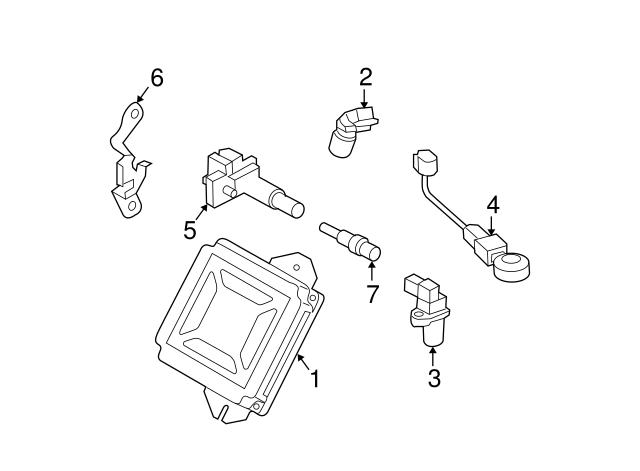 2004 2007 Subaru Knock Sensor 22060aa111