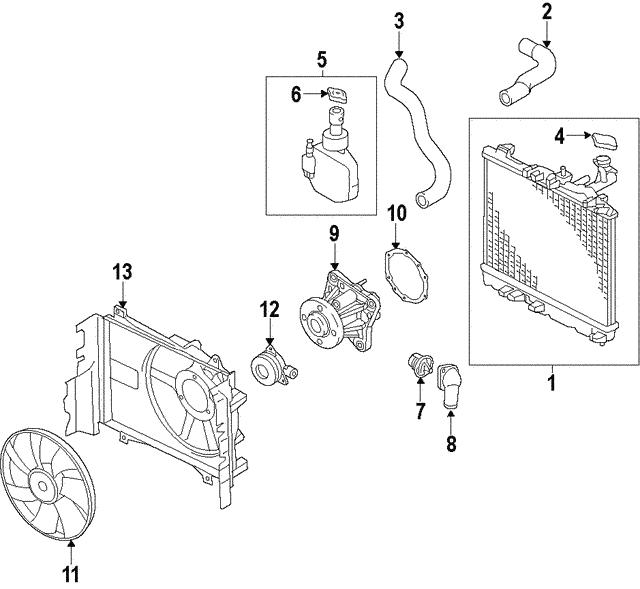 [SCHEMATICS_4PO]  2014-2019 Mitsubishi Thermostat 1305A280 | Auto Parts | 2015 Mitsubishi Mirage Engine Diagram |  | Mitsubishi Parts Warehouse