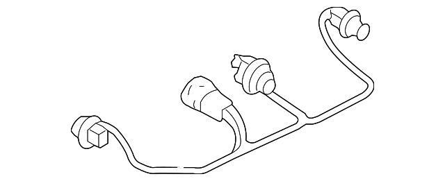 genuine nissan socket  u0026 wire 26551