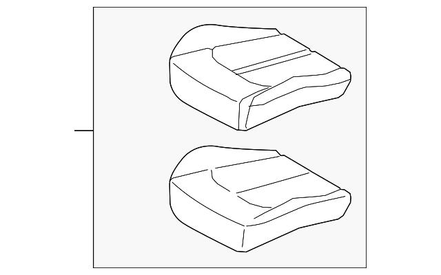 hyundai cushion assembly  88203