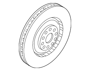 Rotor - Audi (4H0-615-301-AN)
