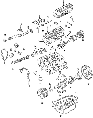 oem 1998 oldsmobile intrigue mounts parts