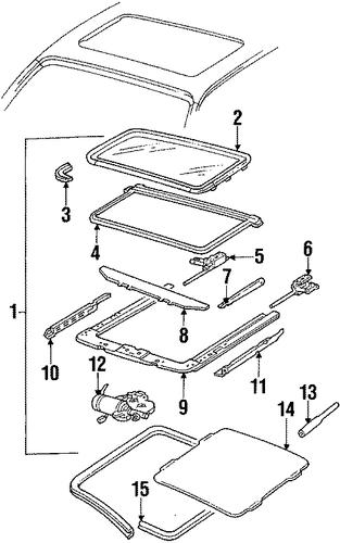 1992 Cadillac Sts Parts