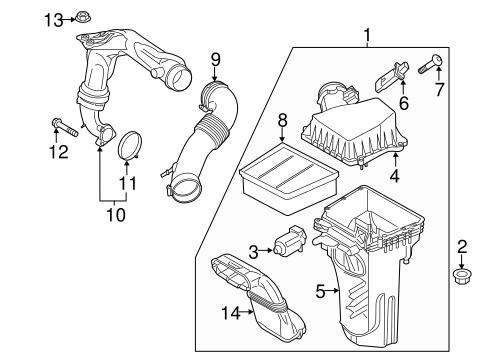 air intake for 2015 ford fiesta tascaparts Air Intake Hose Parts engine air intake for 2015 ford fiesta 1