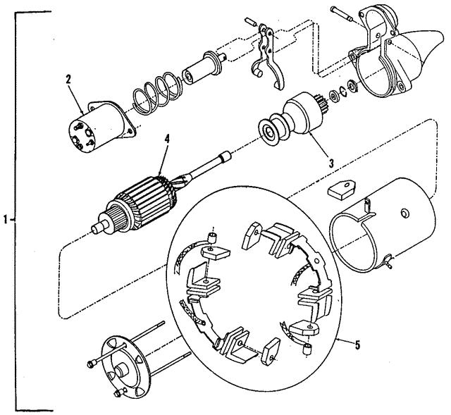 1992 1993 Gm Starter 10465434