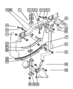 Genuine Chrysler 5086561AC Suspension Absorber Package