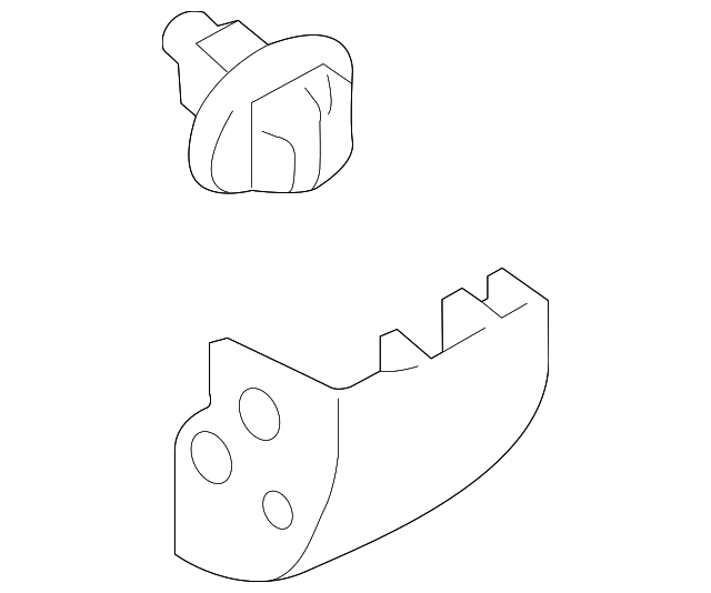 2014 Scion Iq Transmission: Rocker Molding - Toyota (75857-35010)