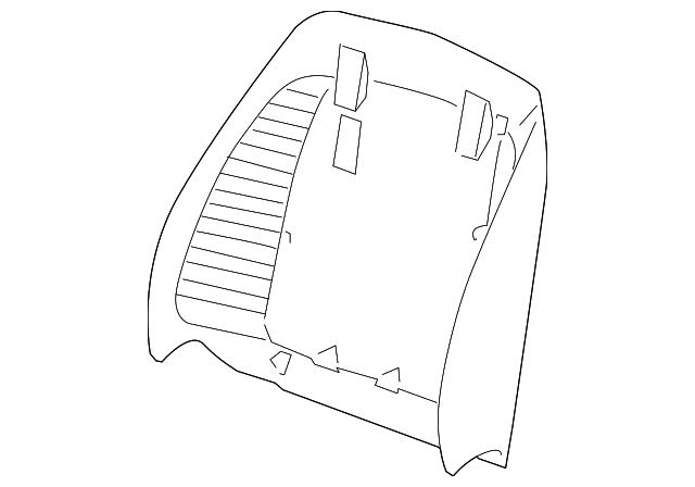 Genuine GM Seat Back Panel 25939330