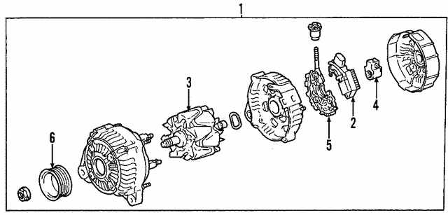 Alternator - Toyota (27060-0P020-84)