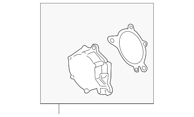 Vacuum Pump Ford Bc3z 2a451 B Oemfordpart