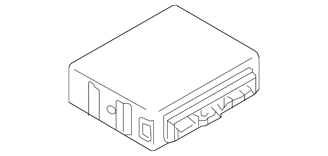 Genuine Mazda TD17-67-6N0 Keyless Antenna and Bracket