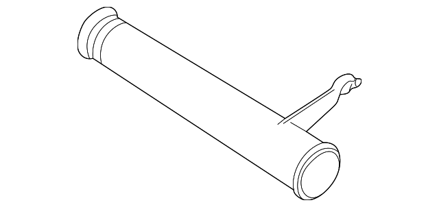 genuine gm outlet pipe 90411629