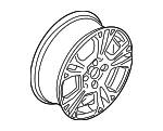 Wheel, Alloy - Ford (C1BZ-1007-A)