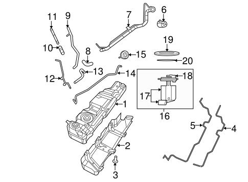 Fuel System Components for 2008 Jeep Wrangler   Mopar Parts