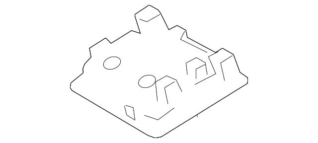 TOYOTA Genuine 63310-42450-B0 Roof Headlining Assembly