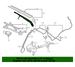 Wiper Arm - Nissan (28881-3NA0A)