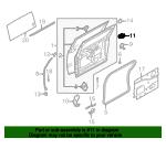 Genuine Nissan Roller Assembly 82410-ZM10A