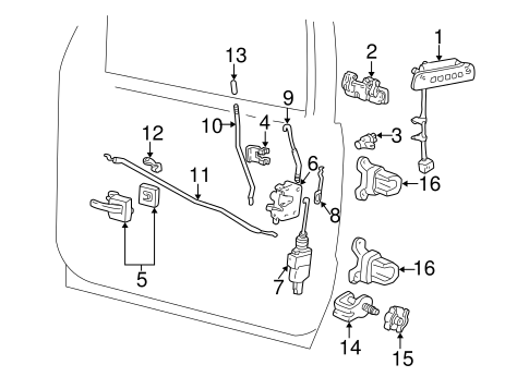 Ford Explorer Door Lock Schematic