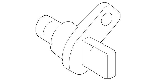 genuine bmw crankshaft position sensor 13627525015