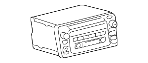 Radio Control Unit - Toyota (86120-48500)
