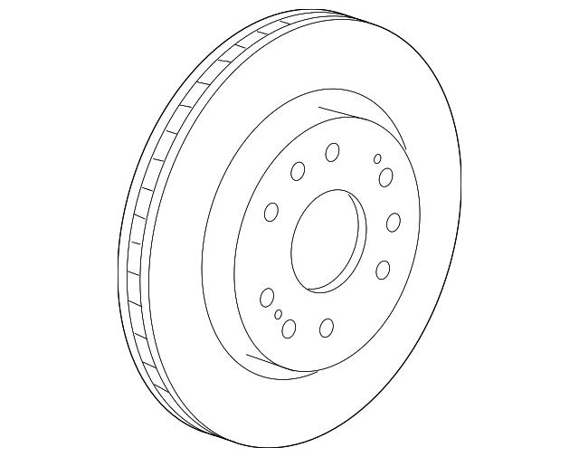 2005 2018 Gm Rotor 22950036