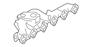 Exhaust Manifold - BMW (11-62-7-811-366)