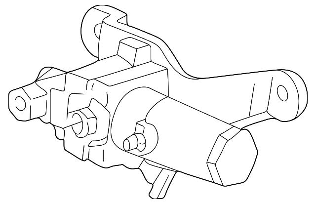 1997 2004 Ford Modulator Valve 6l3z 2b373 A