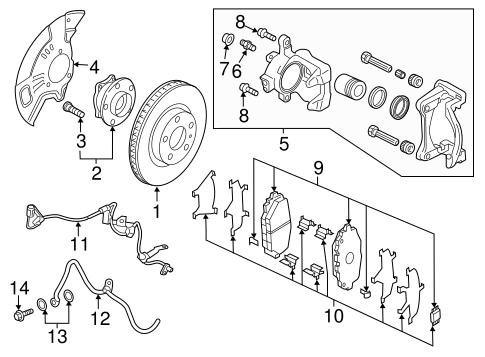 Front Brakes For 2017 Mazda Mx 5 Miata