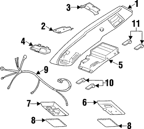 1968 Mustang Grille Diagram additionally Fuse Box Location 2012 Dodge Journey as well Wiper Motor Wiring Diagram For 68 Camaro Wiring Diagrams together with 1062o Location Factory  lifier Connect together with Impala Radio Wiring Diagram. on dodge challenger console
