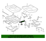 Seat Lift Support - Mercedes-Benz (163-980-02-64)
