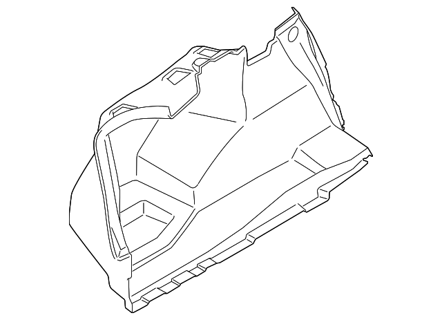 trunk side trim