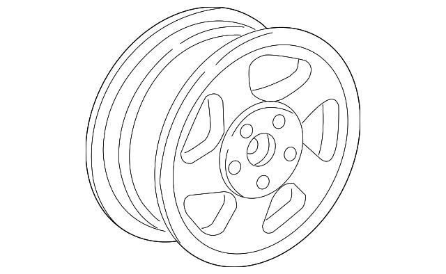 2005 2011 Porsche 911 Wheel 997 362 162 07