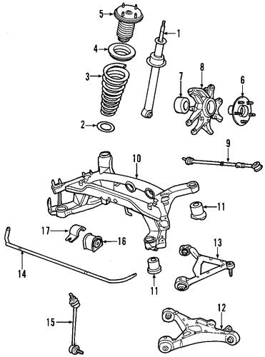 rear suspension for 2001 jaguar s