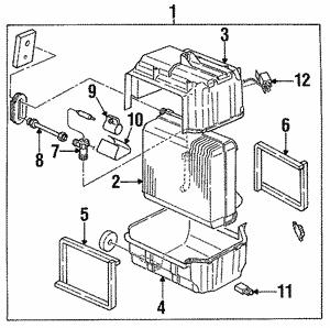 Isuzu Amigo I-Mark Pickup Rodeo Sport Stylus Trooper Coolant Thermostat Gasket