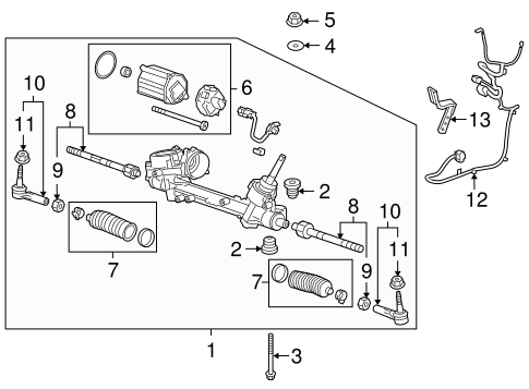 Chevy Steering Linkage Diagram - Wiring Diagrams Dock