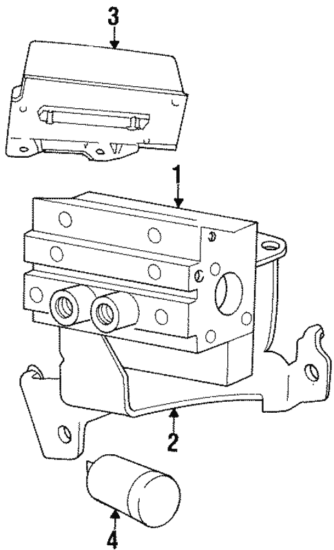 Abs Components For 1997 Dodge Neon