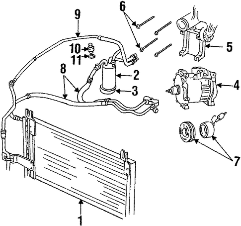 dodge caravan ac compressor with Air Conditioning on Rear Defrost Wiring Diagram also Condenser  pressor And Lines Scat furthermore 2002 Ford Excursion Fuse Box Diagram in addition P 0996b43f8075b7b8 further Air Conditioning.